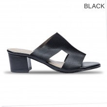 Jiasilin Cut-Out Thick Women Sandals Heels (M26-32)