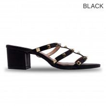 Jiasilin Cut-Out Thick Women Sandals Heels (M13-52)