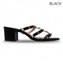 Jiasilin Cut-Out Thick Women Sandals Heels (M13-52)