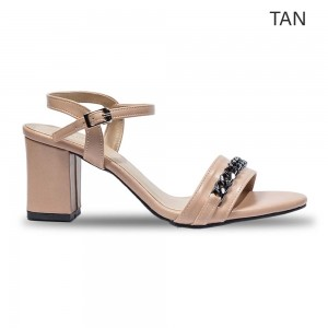 Jiasilin Ankle High Women Thick Heels (M22-24)