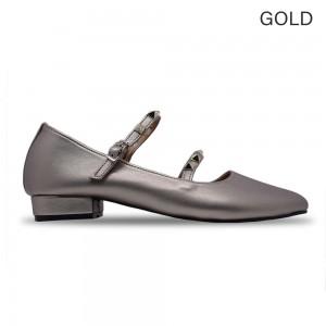 Jiasilin Double Strap Ballet Women Low Heels (M20-21)