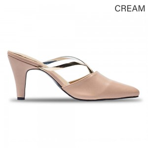 Jiasilin Cross Chain Pointed Toes Women Heels (M6-33)