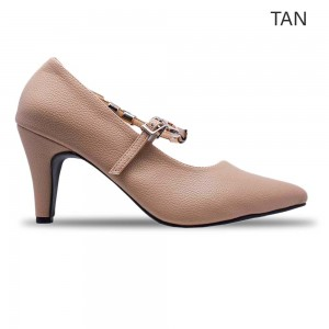 Jiasilin Chain Strap Pointed Toes Women  Heels (M6-55)