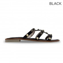 Jiasilin Cut-Out Flats Sandals (M21-24)