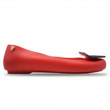 Jiasilin Sweet Love Jelly Shoes (Red)
