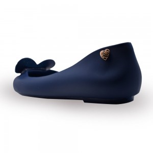 Jiasilin Sweet Love Jelly Shoes (Dark Blue)