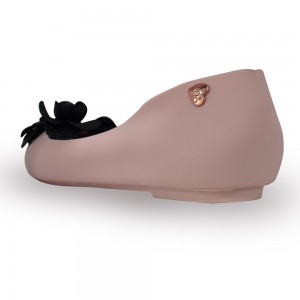 Jiasilin Lovely Flower Jelly Shoes (Salmon Pink)
