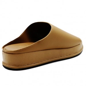 Jiasilin Classic Platform Sandals (Camel)