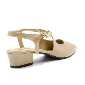 Jiasilin Toe Point Sandals (Khaki)