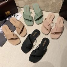 Jiasilin Women Sandals Kasut Flat Wanita Shoes Sandal MJ928